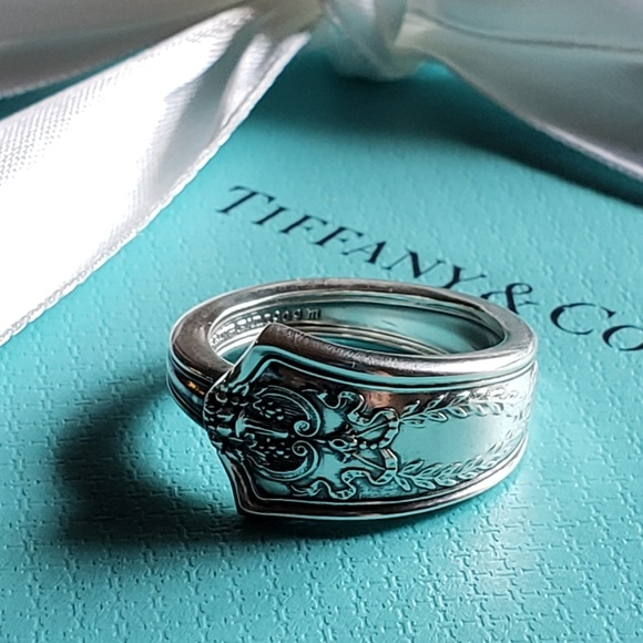 45675ed8c Tiffany & Co. Jewelry | Antique 1909 Tiffany Company Spoonring ...